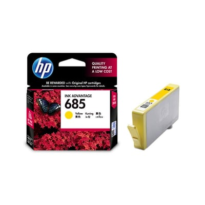 harga HP Tinta 685 Yellow Ink Cartridge - Original (CZ124AA) Ralali.com