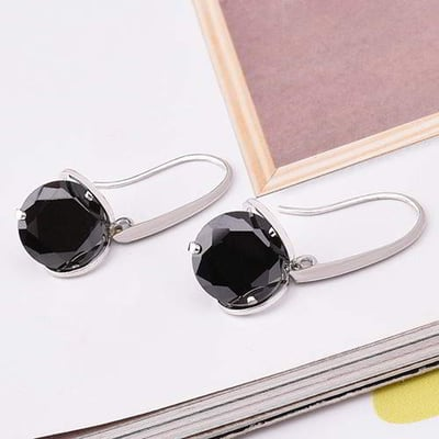 Minimalist Round Diamond  6pcs RCFB5B-Black