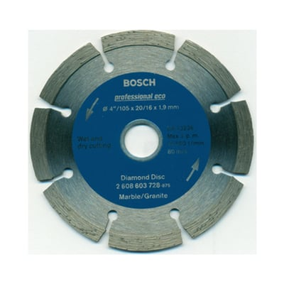 "Bosch Diamond Wheel 4"" for Stone (Standard Series)"