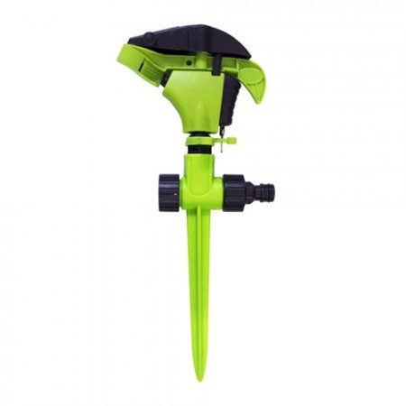 GREEN LAND Gland Plastic Sprinkler W/2-Way Plastic Spike With Plastic Swivel Nut & End Cap #06-277
