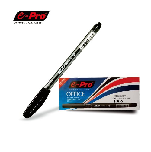E-PRO Ballpoint PX-5 1Box 12Pcs Black