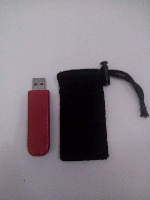 Cover Kantong Sarung Flashdisk modem flasdisk Polos Flanel