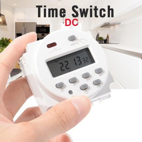 Dc 12v Digital Timer Programmable Switch Auto