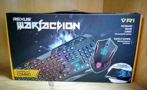 Keyboard & Mouse Gaming Rexus Warfaction
