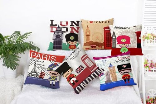 LONDON Sarung Bantal Sofa