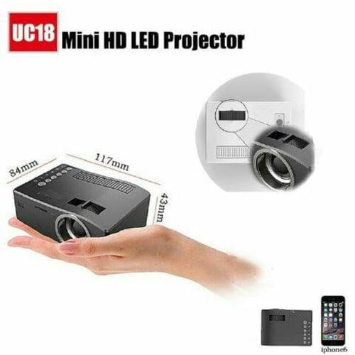 Mini HD LED Projector UC18
