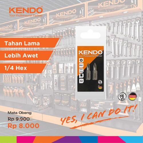 KENDO Standard Bits Mata Obeng 21210105 By Bionic Hardware