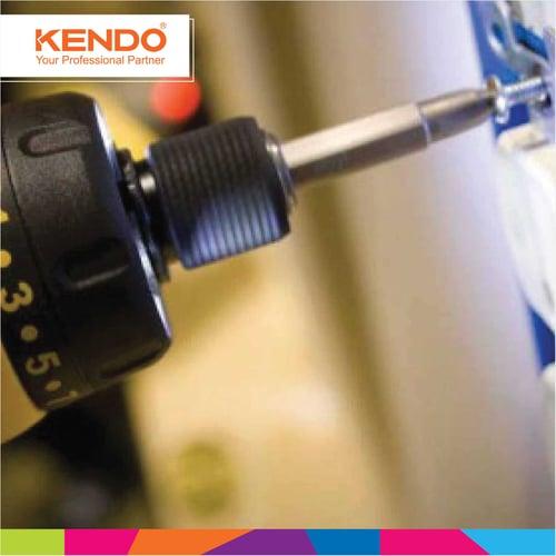 KENDO Standard Bits Mata Obeng 21210205 By Bionic Hardware