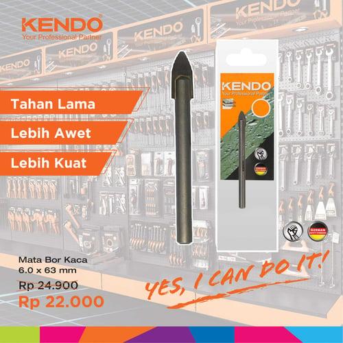 KENDO Glass Drill - Mata Bor Kaca 6mm By Bionic Hardware
