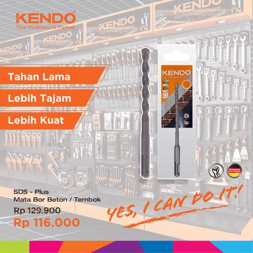 KENDO Hammer Drill Mata Bor Beton 18x460mm By Bionic Hardware