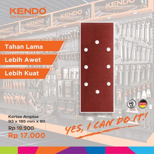 KENDO Sand Disc Rectangular Amplas 71608027 By Bionic Hardware