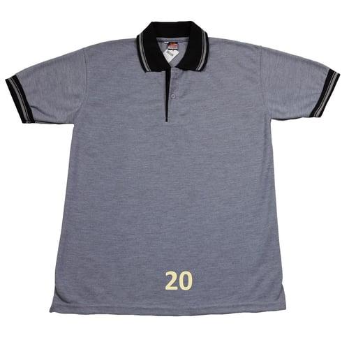 Kaos Polo Shirt Polos Abu Muda