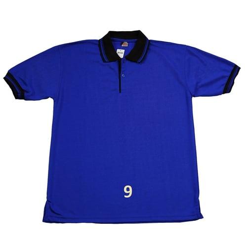 Kaos Polo Shirt Polos Biru Benhur