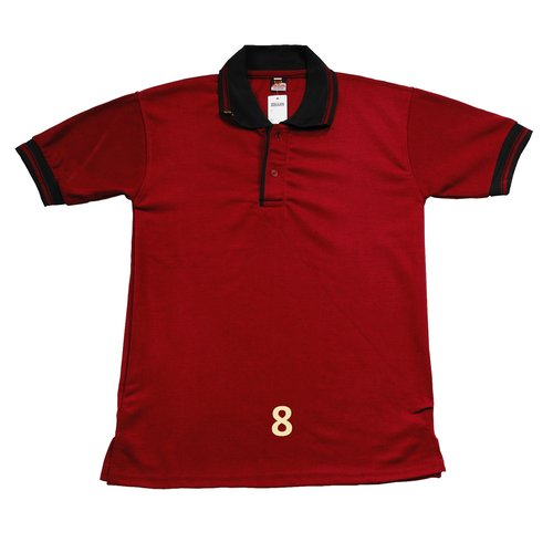 Kaos Polo Shirt Polos Maroon