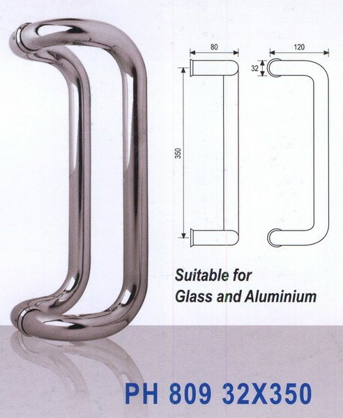 Handle Stainless 010 ALTO 35 CM