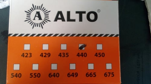 PAKU RIVET ALTO BLACK 435 / 3,2 X 9,5 MM
