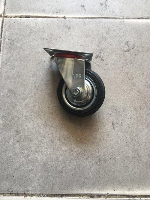 Roda Karet 3 inch YHB mati