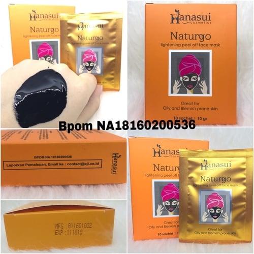 [SACHET] MASKER NATURGO BPOM ORIGINAL BY HANASUI SJ0066