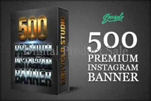 HOT SALE Terlaris 500 Premium Instagram Banner