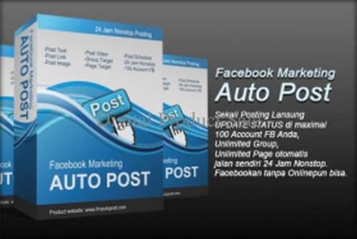 HOT SALE Terlaris Facebook Marketing Auto Post