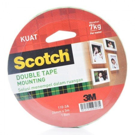 SCOTCH 110 3A Mountingtape 7000040162 24mmx3m