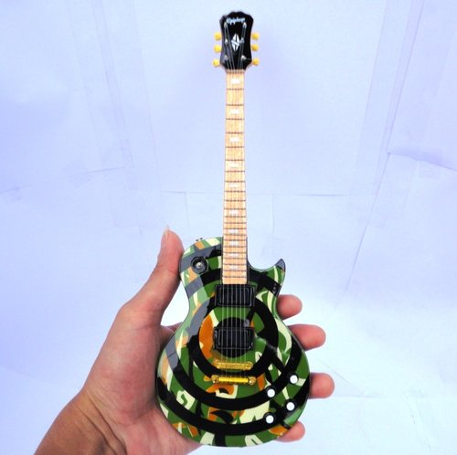 Miniatur Gitar Epiphone Les Paul Zak Wylde Camo