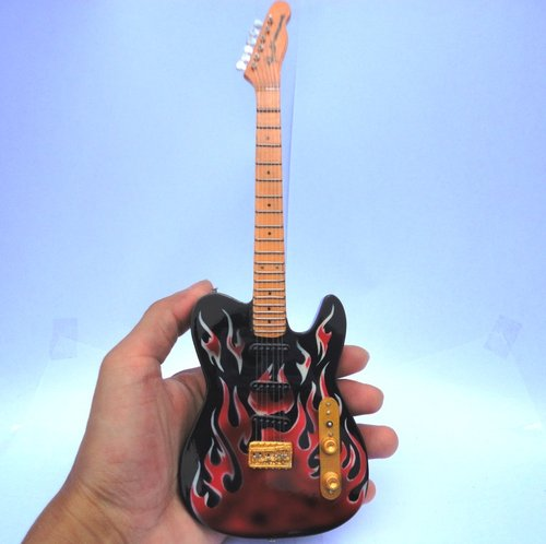 Miniatur Gitar Fender James Burton Signature