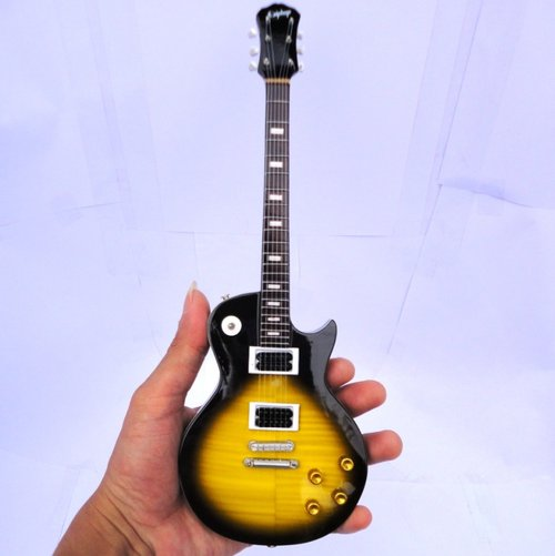 Miniatur Gitar Gibson Les Paul Slash