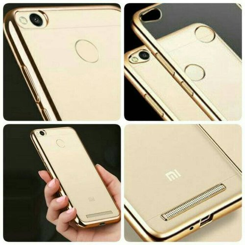Crystal Clear Electroplate Case Iphone 6 Plus 6s Plus