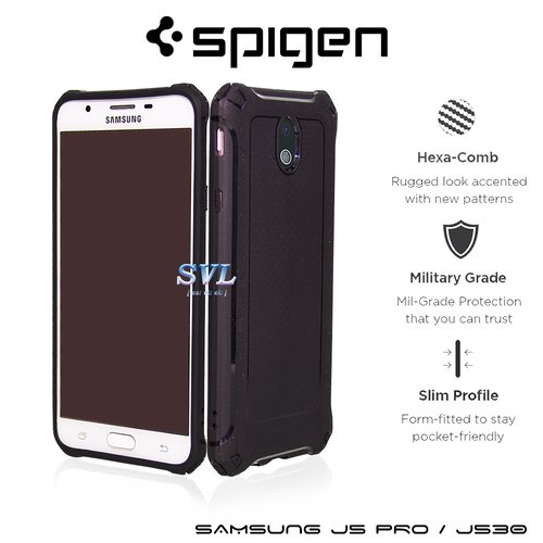 SPIGEN Iphone 7 Case Rugged Armor Extra Black