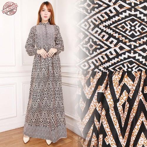 Gamis Maxi Bintang Longdress Batik Wanita