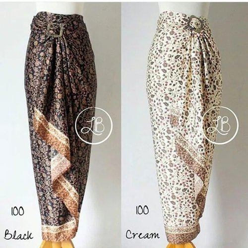 Rok Lilit Maxi Zawiqa Longskirt Batik Wanita
