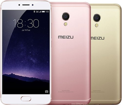 MEIZU Android Phone MX6 Silver