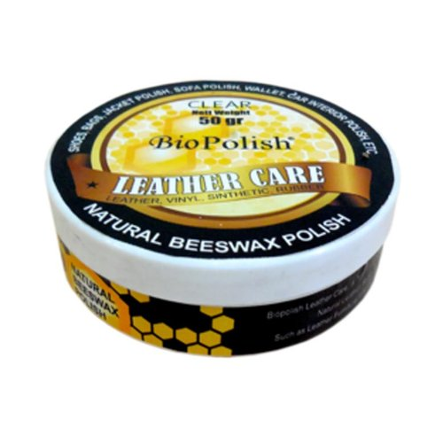 BIOPOLISH Leather Care Natural Beeswax Polish