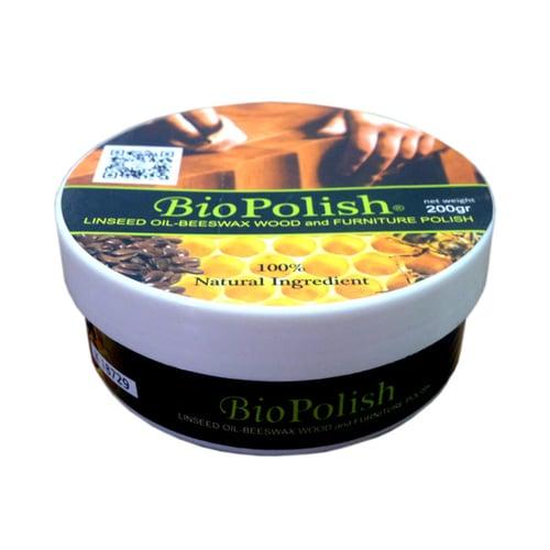 BIOPOLISH Polish Mebel Kayu Furnitur Kayu Linseed Oil 200gr