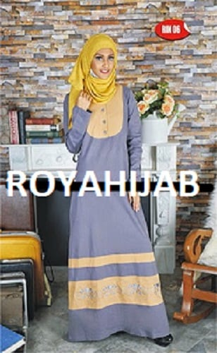 Long Dress Muslim Wanita Shirin - RIN 05- S