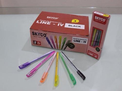 SKYCO Semi Gel Pen Blue Black Red 108