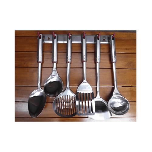 Oxone Kitchen Tools Stainless Steel Spatula / Sutil Anti Karat OX-963