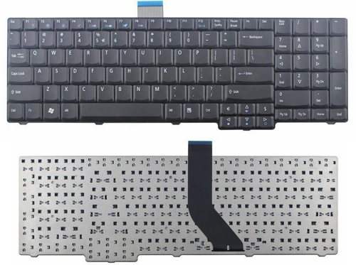 Acer Keyboard Aspire 7230 7530 7530G  7730Z  7730G Extensa 7230 7230E US Black.