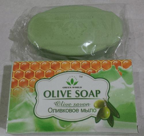 Green World Olive Soap / Sabun Olive Membuat Kulit Wajah Lembut, Tidak Berminyak