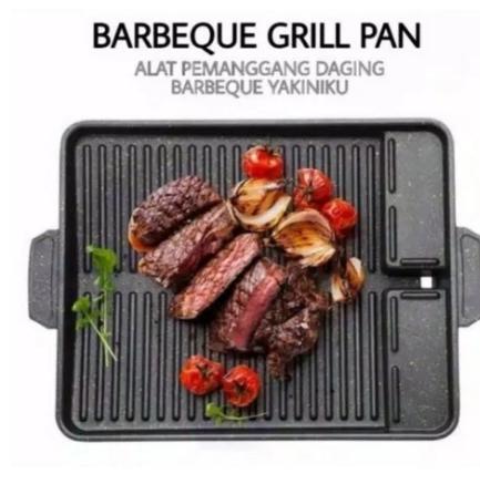Yakiniku Grill Pan Alat Panggang Pemanggang Bakar Barbeque BBQ