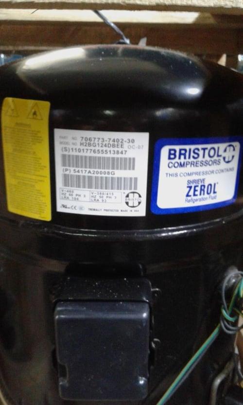 Compressor Bristol H2BG124DBEE