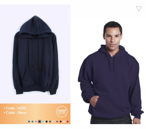 Unisex Jacket Hoodie Pullover Available In 12 Colors Navy