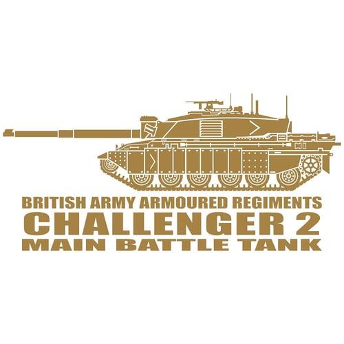 Challenger 2 Main Battle Tank, Cutting Sticker
