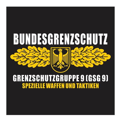 GSG-9 German Special Force, Spezielle Waffen Und Taktiken, Cutting Sticker