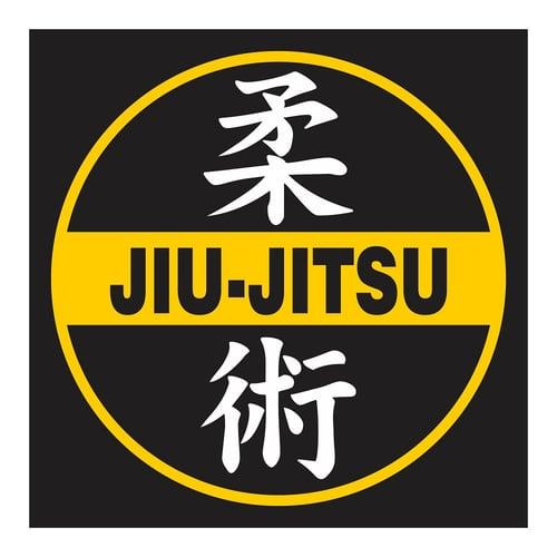 Jiujitsu, Cutting Sticker