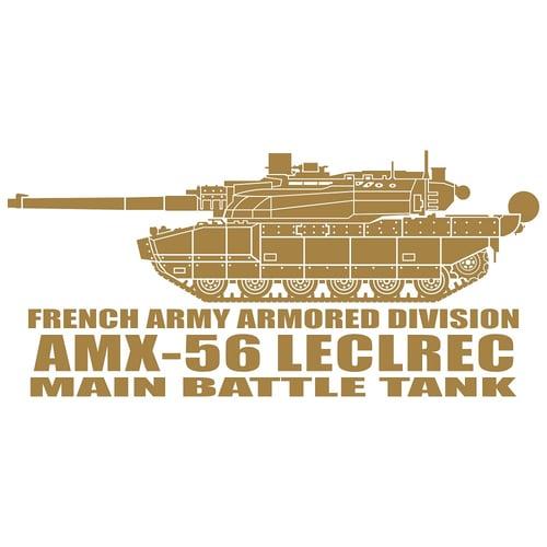 Leclerc AMX-56 Main Battle Tank, Cutting Sticker