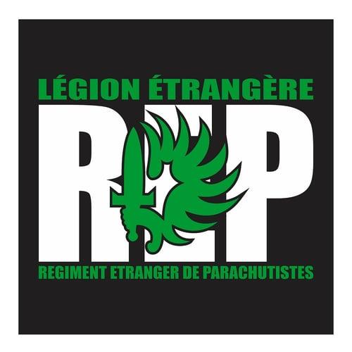 Legion Etrangere REP 2, French Foreign Legionnaire, Cutting Sticker
