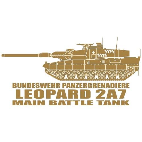 Leopard 2A7 Main Battle Tank, Cutting Sticker