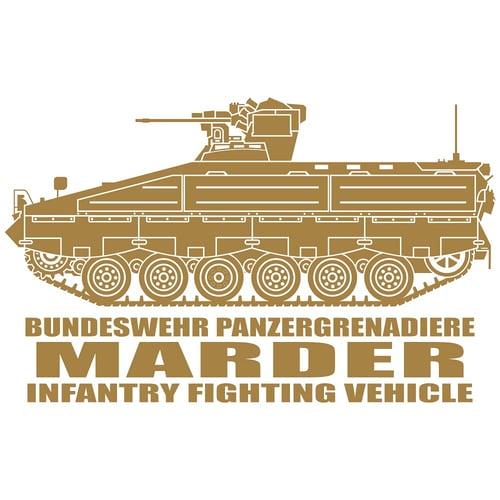 Marder Infantry Fighting Vehicle, Cutting Sticker